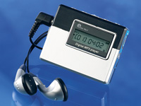 "Q-Sonic MP3-Player ""Economic"" mit SD-/MMC-Kartenleser"