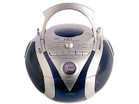 Q-Sonic MP3/CD/Kassetten/Radio-Player tragbar
