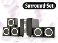 Q-Sonic 5.1 Surround-Sound-Set 'Cinema FX II' (refurbished)