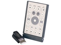 Q-Sonic Multimedia-Slim-Fernbedienung USB mit Mausfunktion