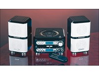 Q-Sonic Mini Hifi-Anlage MP3/CD/RADIO