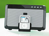 Q-Sonic 2in1 Docking-Station für iPod & Handys mit Stereo-Bluetooth
